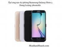Ốp lưng sạc dự phòng Samsung Galaxy Note 5 5800mAh JLW-Note-5A