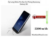 Ốp Lưng Kiêm Sạc Dự Phòng Chống Va Đập Samsung Galaxy S8 Dung Lượng 5500mAh - MSN181246
