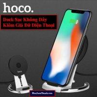 DOCK Sạc Không Dây Hoco CW5 Hỗ trợ sạc nhanh cho IPhone X, IPhone 8/8 Plus, flagship Samsung - MSN181299