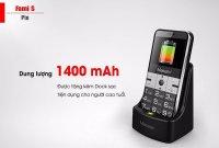 Điện thoại Masstel Fami S 2 Sim Cho Người Già, Tặng Dock Sạc Đa Năng - MSN388275