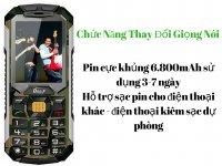 Điện thoại Land Rover C5000, Giả Lập Giọng Nói, Pin Khủng Sạc Cho Máy Khác - MSN388274