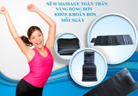 Nệm Massage Thư Giãn Lazybag xua tan giảm bớt tình trang đau mỏi - MSN388284