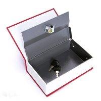 Két Sắt Mini Quyển Sách Độc Đáo Kích thước 18x12x6 cm - MSN388292