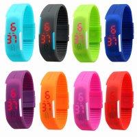 Đồng hồ LED Silicon kiêm vòng tay thời trang Chống Nước - MSN1831055