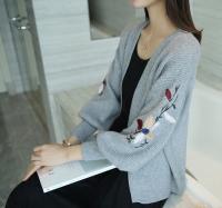 Áo Khoác Len Hoa Phong Cách Hàn Quốc - MSN1831059