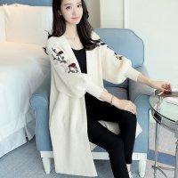 Áo Khoác Len Cardigan Hoa chất liệu len mềm mại mang lại cảm giác thoải mái - MSN1831061