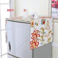 Tấm Phủ Tủ Lạnh Họa Tiết, Kích thước 130x55 cm - MSN383246
