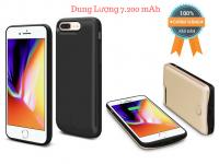 Ốp Lưng Kiêm Pin Sạc Dự Phòng IPhone 6+/7+/8+ Dung Lượng 7200mAh JLW-8PB-2