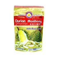 Sầu Riêng Sấy Khô Thái Lan Durian Monthong Thaiaochi 100g - MSN181148