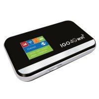 Bộ Phát Wifi 3G/4G IGO A368 Pin 3000mAh Hỗ Trợ Hơn 10 Nước - MSN181337