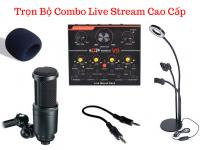 Bộ Thu Âm Live Stream Cao Cấp Mic AK-69 + Sound Card V9 - MSN388356
