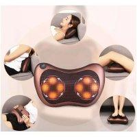 Gối Massage Hồng Ngoại 8 Bi Giảm Đau Nhanh Chóng Công suất 24W - MSN8018
