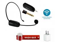 Microphone Trợ Giảng Không Dây Tần Số 2.4G - MSN181342
