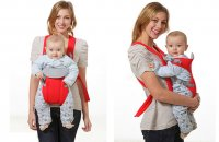 Địu ngồi Royal cho bé cho bé từ 2 tháng tối đa 12kg - MSN1831111