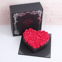 Hoa Hồng Sáp Trái Tim Love You Forever - MSN1831118