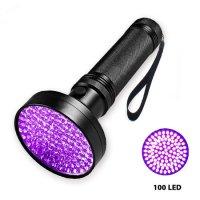 Đèn UV Led 100 bóng 18W Sấy Keo UV, Soi Tiền - UV100