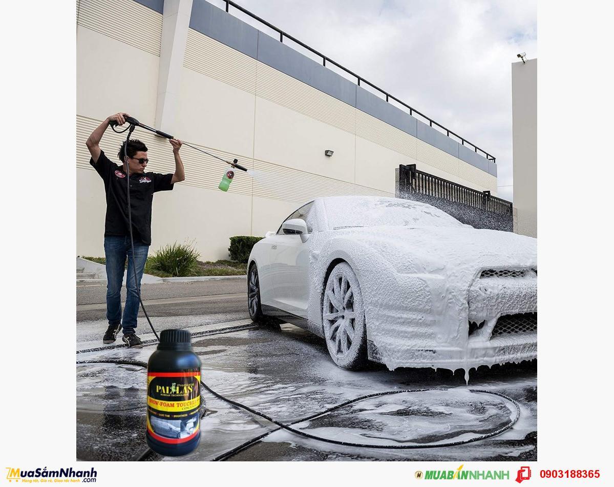 Nước rửa xe bọt tuyết không chạm - MuaBanNhanh