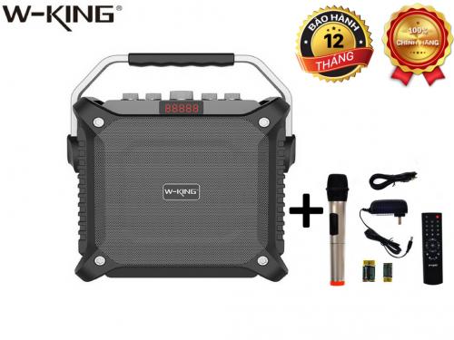 Loa Kéo Karaoke Bluetooth W-King K3 60W + Tặng Kèm Mic
