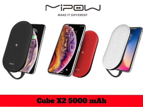 Sạc Dự Phòng Không Dây Mipow Power Cube X2 Chuẩn Apple