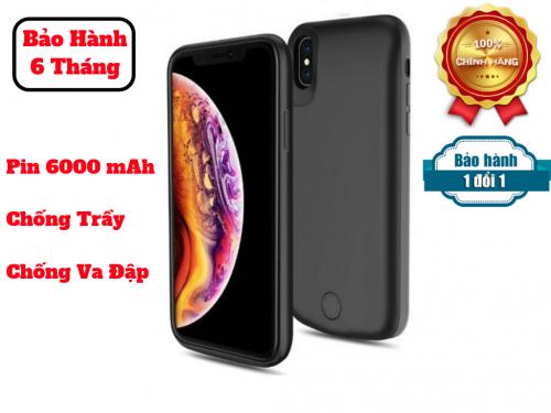 Ốp Kiêm Pin Sạc Dự Phòng IPhone Xsmax JLW-XM2m 6000mAh
