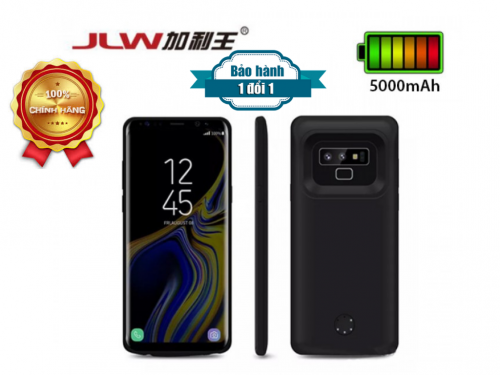 Ốp Kiêm Pin Sạc Dự Phòng Samsung Note 9 JLW-Note 9 5000mAh