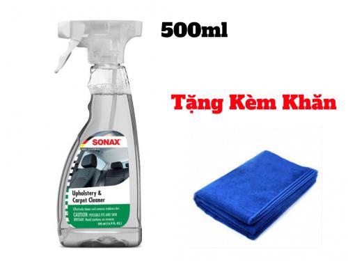 Chai Vệ Sinh Nội Thất Ô Tô Sonax Interior Cleaner - Sonax 321200 500ml
