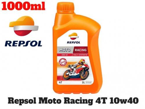 Nhớt Xe Moto Cao Cấp REPSOL Racing 10W40 4T 1000ml