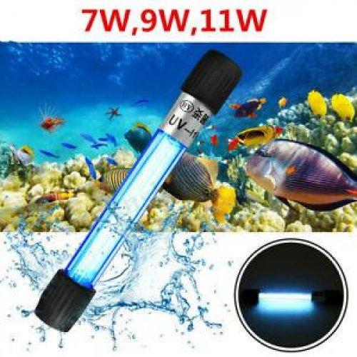 Đèn UV 11W Diệt Tảo Diệt Khuẩn Cho Bể Cá Dưới 1000 lít