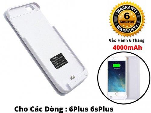 Ốp Lưng Kiêm Pin Sạc Dự Phòng IPhone 6 Plus 4000mAh JLW-6PCE