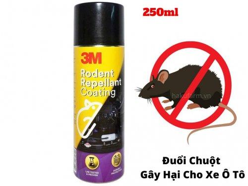 Dung Dịch Đuổi Chuột Đông Cơ Xe Hơi 3M Rodent Repellant Coating 250ml