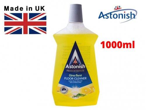 Nước Lau Sàn Siêu Sạch Hương Sả Chanh ASTONISH C6100 Hàng Nhập Anh Quốc 1000ml