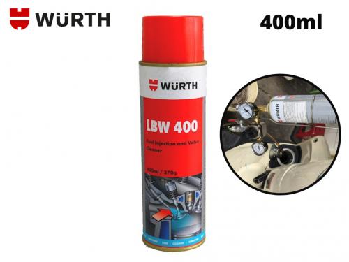 Dung Dịch Vệ Sinh Kim Phun Xăng Điện Tử Wurth LBW 400 330ml - LBW400