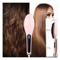 Lược Điện Tự Động Chải Thẳng Tóc FAST HAIR STRAIGHTENER HQT-906 - MSN388021