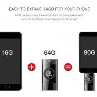 Mở Rộng Bộ Nhớ Cho IPhone, IPad - USB OTG 64GB Chính Hãng Baseus Obsidian X1 - MSN181146