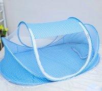 Mùng Chụp Có Nhạc Cho Bé Chống Muỗi Giúp Bé Ngủ Ngon, Kích thước: 60 x 112 cm - MSN1831003