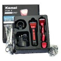Tông đơ Kemei KM-8058 đa năng 5 trong 1 Cắt tóc ,Cạo Râu ,Tỉa Lông Mũi - MSN383213