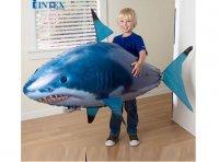 Đồ chơi cá mập bay màu xanh