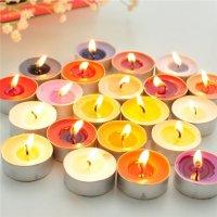 Nến Tealight – Nến đốt tinh dầu thiên nhiên - Hộp 50 Viên - MSN181052