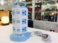 Ổ Điện 3 Tầng CX-312 Hỗ trợ 3 Cổng USB, 12 Ổ Cắm An Toàn, Dài 1m8 + Tặng Kèm Đèn Led - MSN383221