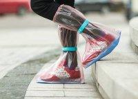 Bọc giày đi mưa nhựa PVC dẻo cao cấp dùng để đi phượt, đi du lịch - MSN388263
