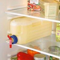 Bình Nước Tủ Lạnh 3L Có Van Tiện Lợi, Nhựa ABS An Toàn - MSN383233