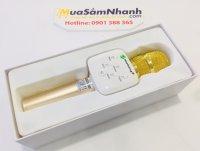 Mic Karaoke Bluetooth New RIXING K9, Giá Tốt Âm Thanh Hay - MSN388272