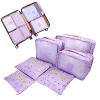 Bộ 6 túi đựng đồ du lịch cao cấp chống thấm thoải mái sắp xếp quần áo - MSN1831041
