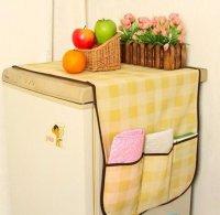 Tấm phủ tủ lạnh Đa Năng Sọc caro kích thước 134x46 cm - MSN383240