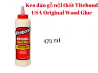 Keo dán gỗ nội thất Titebond Original Wood Glue 473ml - MSN388348