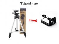 Chân Tripod TF 3110 cho điện thoại tặng kèm kẹp điện thoại - MSN383132