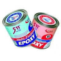 Bộ keo dán đá, nhựa, gỗ, kim loại Epoxy 511 A và B Multi Purpose Tan Nam Do - Epoxy511