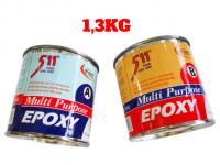 Keo A B Epoxy 511 Chuyên Dùng Trong Công Nghiệp 1,3kg