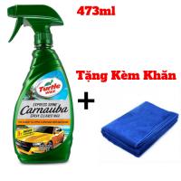 Chai xịt bóng nhanh sơn xe Turtle Wax Express Shine 473ml + Tặng Kèm Khăn - MSN388371