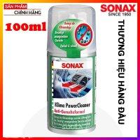 Chai Xịt Làm Sạch Khử Mùi Dàn Lạnh Ô Tô Sonax A/C Cleaner 323 100 (100ml)